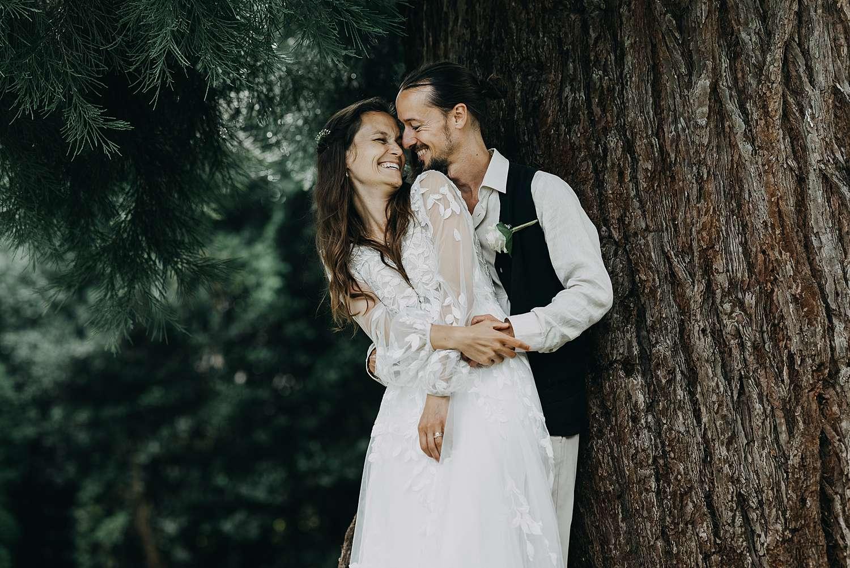 Bohemian hippie wedding kasteel van Heks
