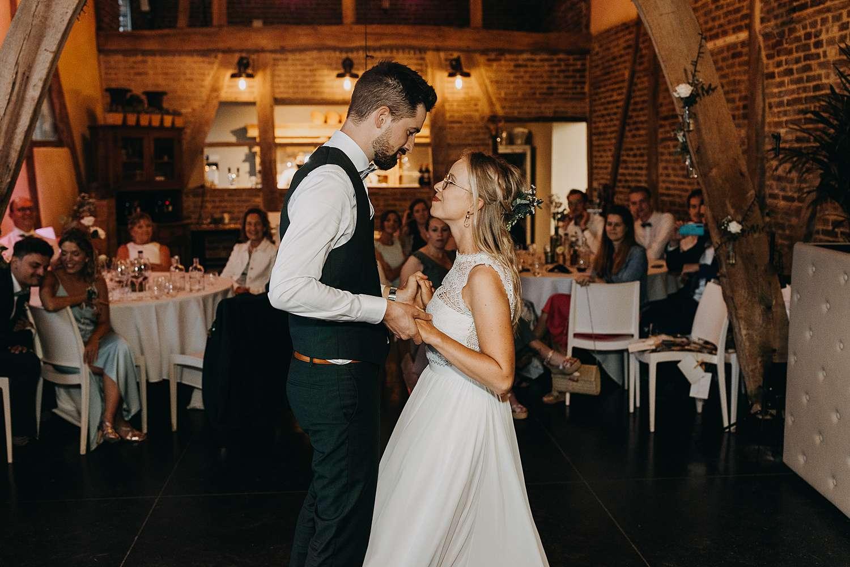 Feestzaal De Schuur openingsdans huwelijk