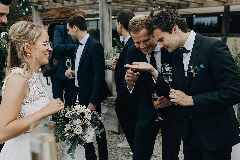 Feestzaal De Schuur receptie huwelijk