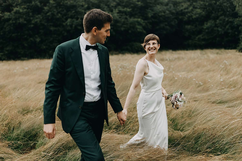 Huwelijk in Grimbergen natuur