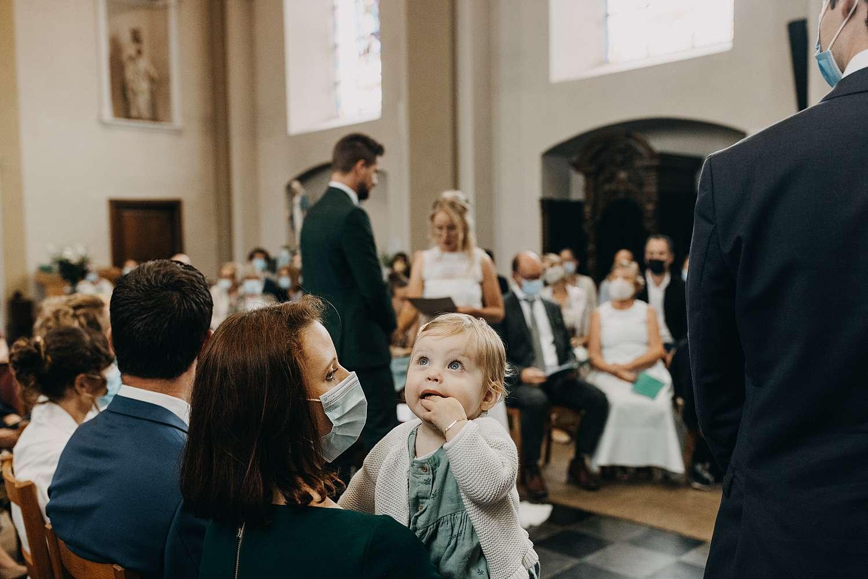 Ja-woord huwelijk in Sint-Pancratiuskerk