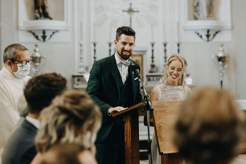 Sint-Pancratiuskerk speech bruidegom
