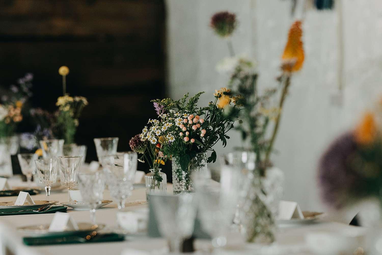 Tafeldekking huwelijk Oyenbrugmolen